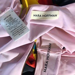 Mara Hoffman Swim - MARA HOFFMAN Plateau Wrap Onepiece bathing suite M